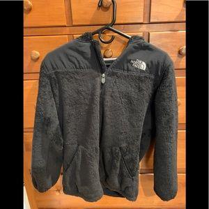 Girls zipper lightweight hooded jacket